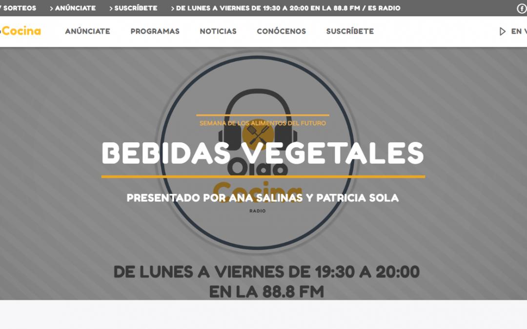 """""""Alimentos del Futuro"""": Bebidas Vegetales"""